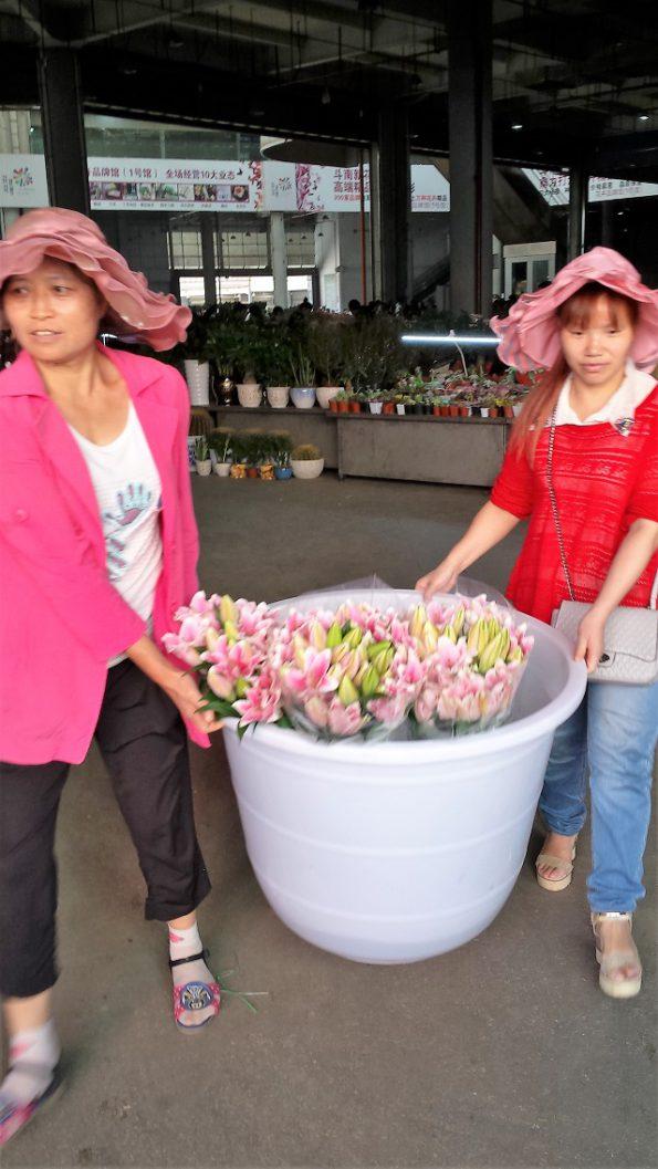 flowerbasketkunmingflowermarket